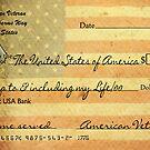 Patriotic Deposit by Maria Dryfhout