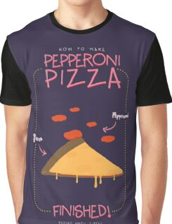 PEPPERONI PIZZA  Graphic T-Shirt