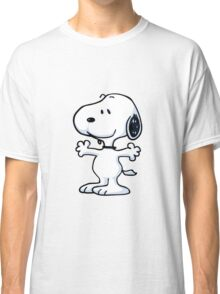 snoopy funny tears Classic T-Shirt