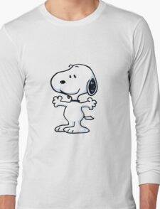 snoopy funny tears Long Sleeve T-Shirt