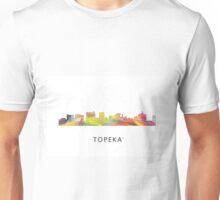 Topeka, Kansas Skyline Unisex T-Shirt