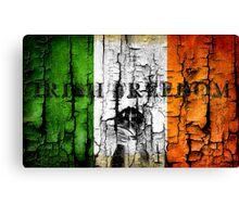 irish freedom Canvas Print