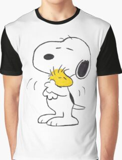 hug Peanuts Snoopy Graphic T-Shirt