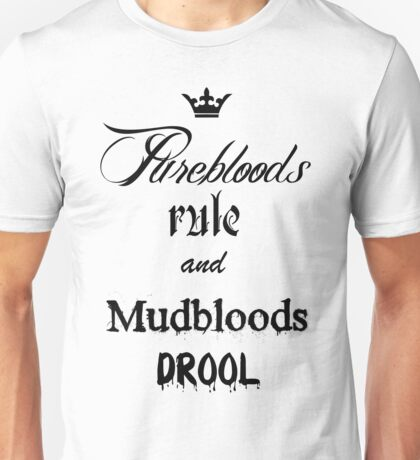 Pureblood and Mudblood Unisex T-Shirt