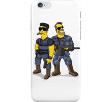 Sylvester Stallone and Arnold Schwarzenegger iPhone Case/Skin