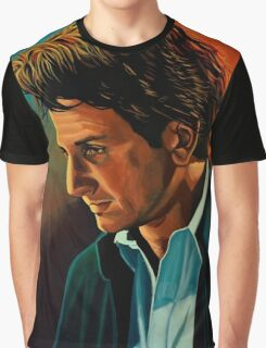 Sean Penn painting Graphic T-Shirt