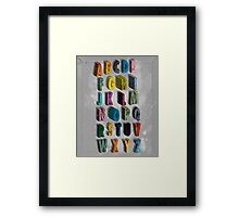 alphabet city Framed Print
