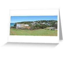 Coolum panorama Greeting Card