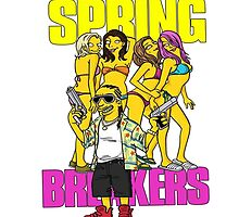 Spring Breakers by EvanMabe