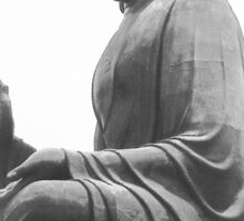 Tian Tan Buddha Sticker