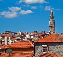Portugal. Porto. Clerigos Tower. by vadim19