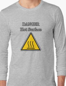 Danger I´m HOT Long Sleeve T-Shirt