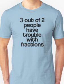 Fractions Unisex T-Shirt