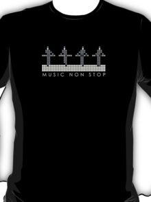 PIXEL8 | Music Non Stop | Kraftwerk Monochrome T-Shirt