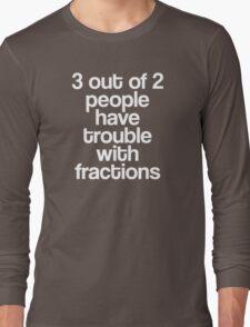 Fractions Long Sleeve T-Shirt