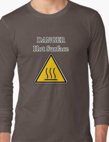 Danger I´m HOT2 Long Sleeve T-Shirt