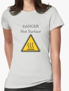 Danger I´m HOT2 Womens Fitted T-Shirt