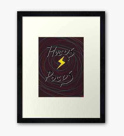 halloween hocus pocus witch     Framed Print