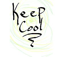 keep cool Photographic Print