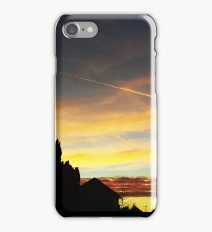 Sunset over Suburbia iPhone Case/Skin