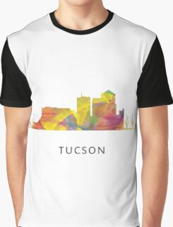 Tucson, Arizona Skyline WB1 Graphic T-Shirt