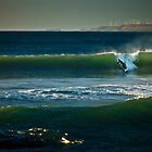 Green Pt Beach Right-Hander by Garth Smith