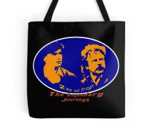 Zap and Troy: The Legendary Journeys Poster Tote Bag