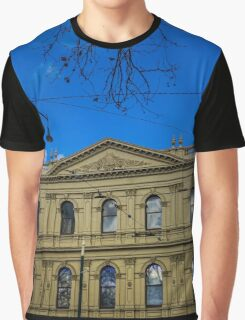 Facade of the Beehive Building - Bendigo, Victoria Graphic T-Shirt
