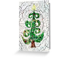 Christmas Crackle Greeting Card