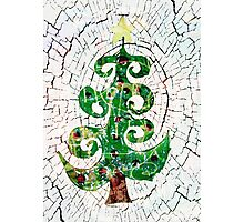 Christmas Crackle Photographic Print