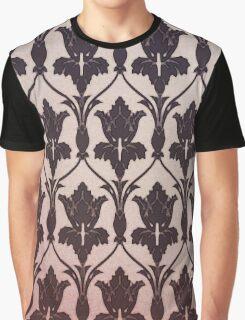 221B Baker Street Wallpaper Graphic T-Shirt