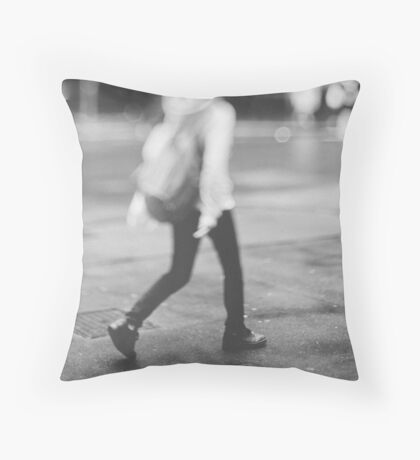 Tilt and shift #3 Throw Pillow