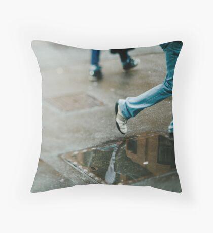 Tilt and shift #2  Throw Pillow