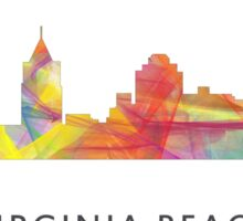 Virginia Beach, Virginia Skyline WB1 Sticker
