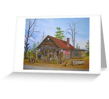Old Sautee Store, Georgia Greeting Card