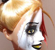 Harley Quinn face2 by deviantdolls
