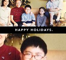 Grumpy Christmas Kid by Justin Ladia