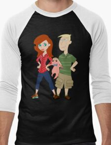 Amy Possible + Rory Stoppable  Men's Baseball ¾ T-Shirt