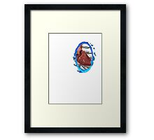A Portal to my Heart Framed Print