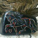 Rock 'N' Ponies - BLACK PEARL PONY by louisegreen