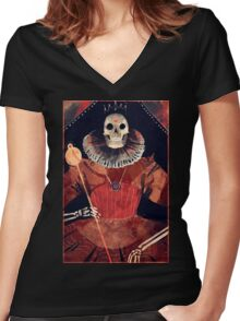 Ancient Queen Women's Fitted V-Neck T-Shirt