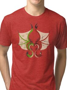 Heaven and Earth - Rathalos x Rathian Tri-blend T-Shirt