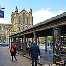Hexham Abbey and the Shambles by Tom Gomez