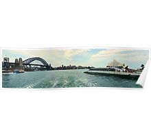 Sydney Harbour Pano Poster