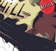 Born To Chill - Weed & Netflix  Sticker