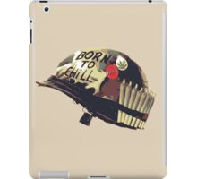 Born To Chill - Weed & Netflix  iPad Case/Skin