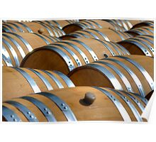 Barrels Of Wine Poster