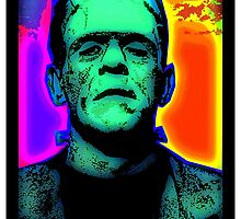 FRANKENSTEIN'S MONSTER by OTIS PORRITT