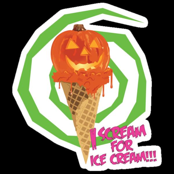 I Scream For Ice Cream!!! (Halloween Flavored) by PixelGum