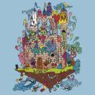 Monster Castle  by Octavio Velazquez